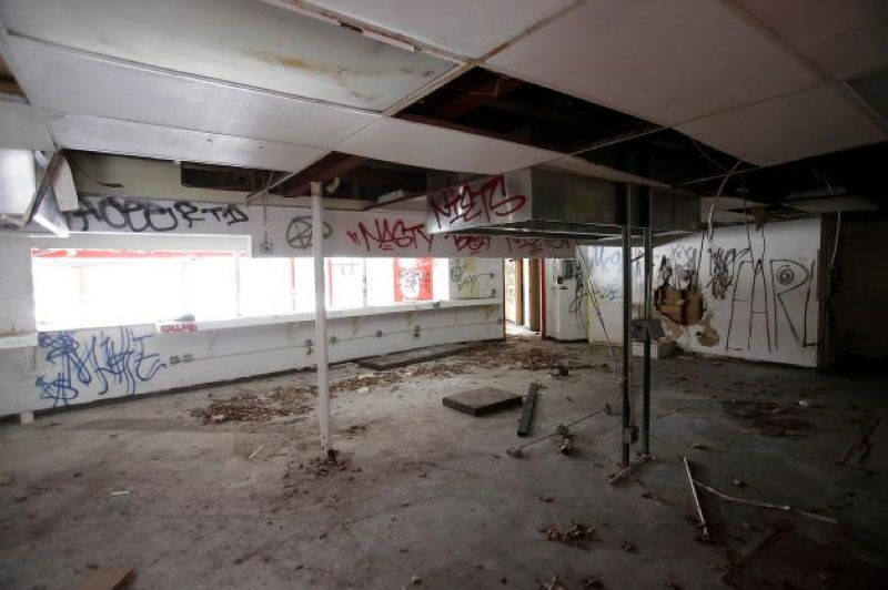 Abandoned Detroit Shop