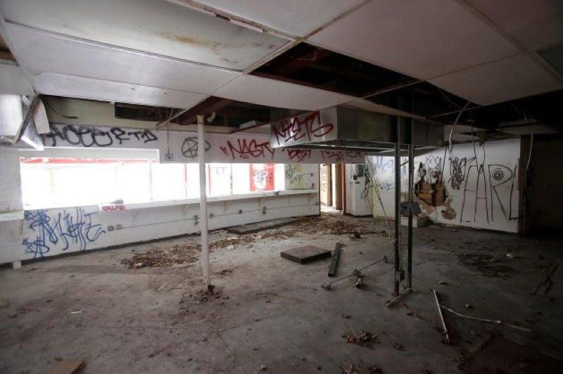 Abandoned Detroit Shop