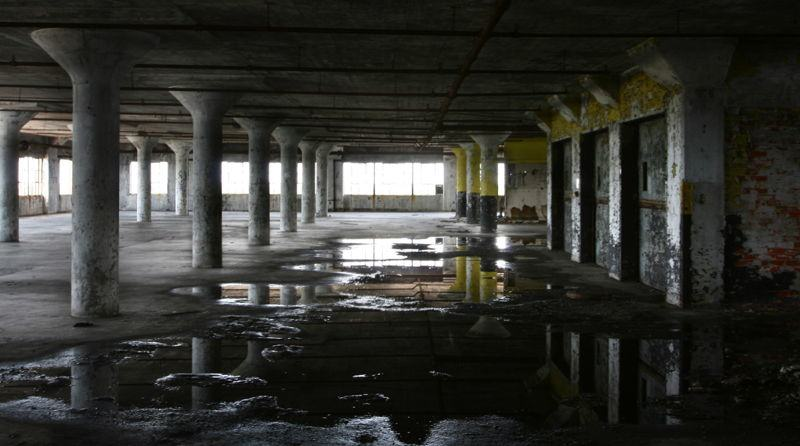 Detroit Standing Water