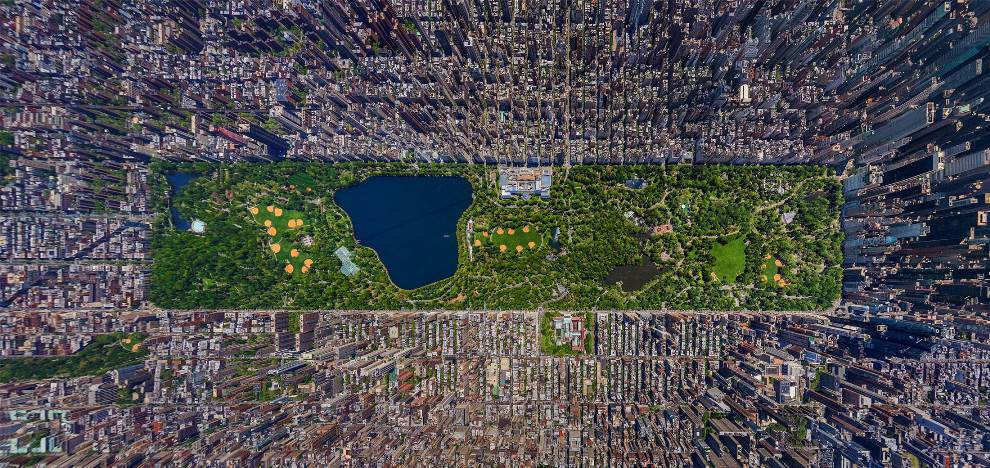 Central Park Aerial Photography