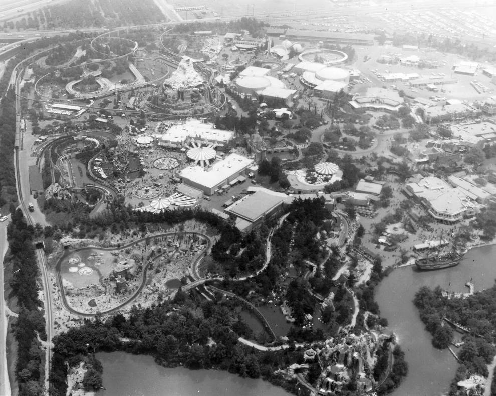 Disneyland In 1962