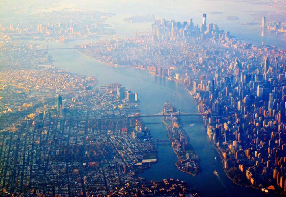 Manhattan And Queens Aerial Photograph