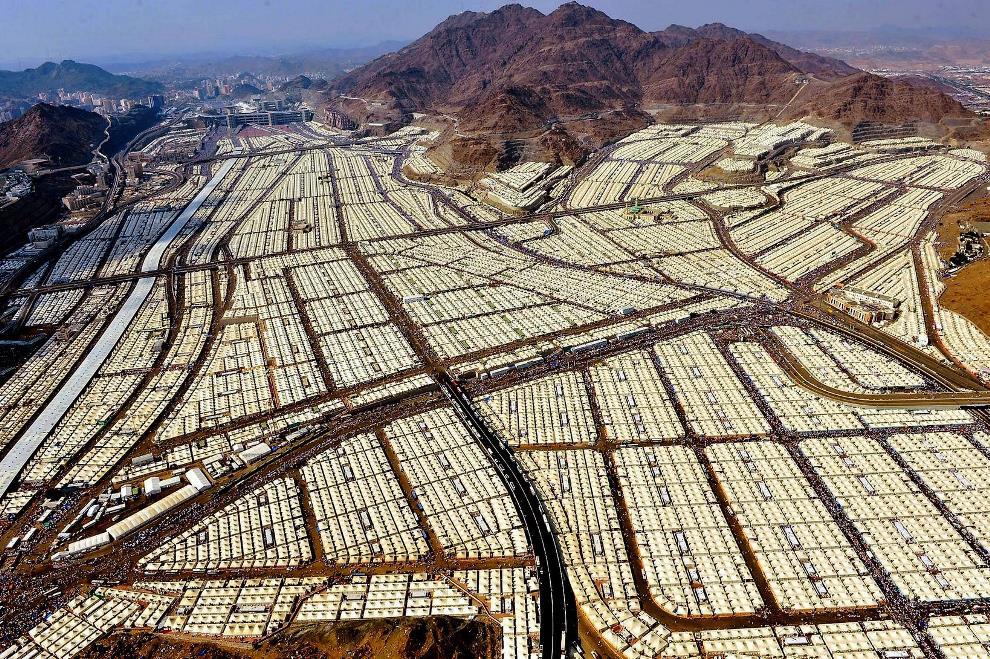 Tent City In Mecca