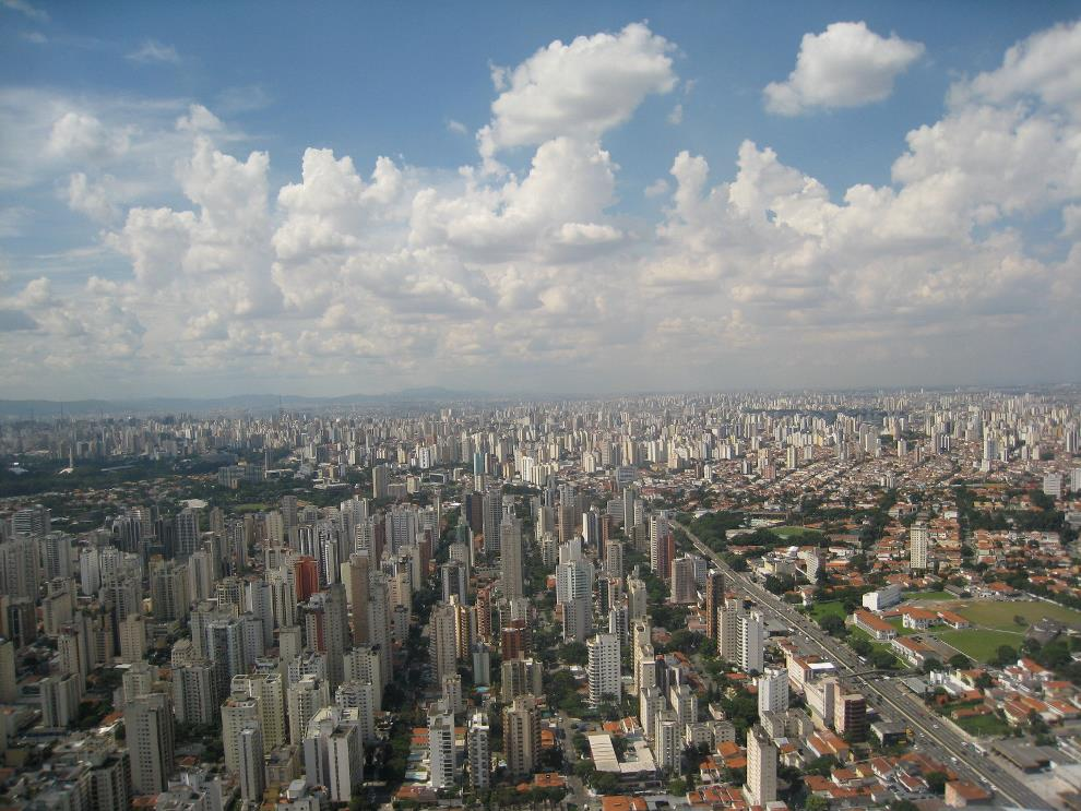 Sao Paola Aerial Photograph