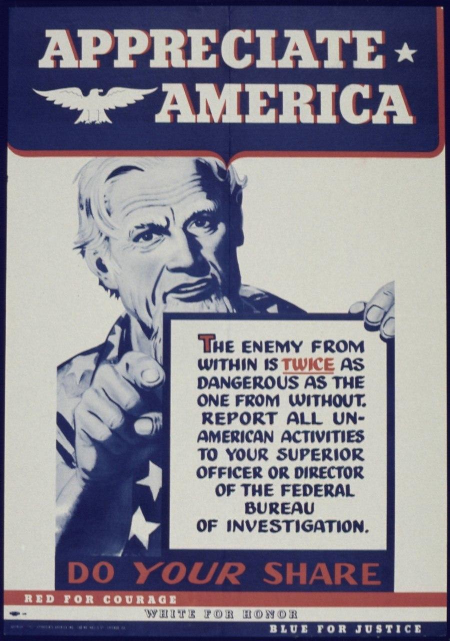 Appreciate America The Enemy Within