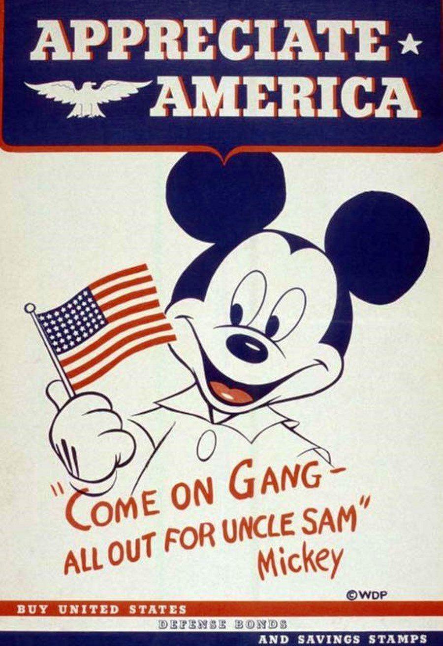 Mickey Mouse World War 2 Propaganda