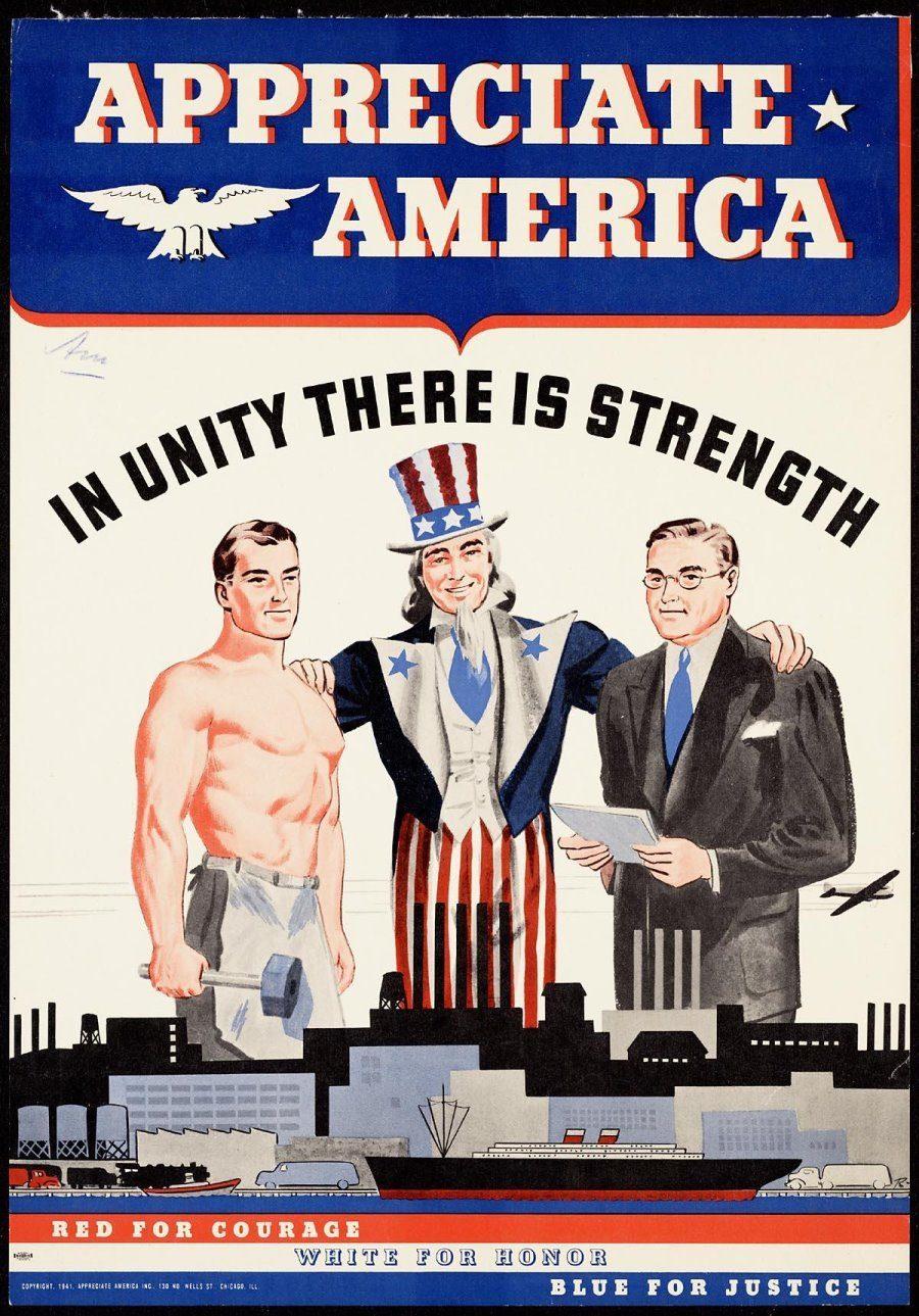 Appreciate America Propaganda Series