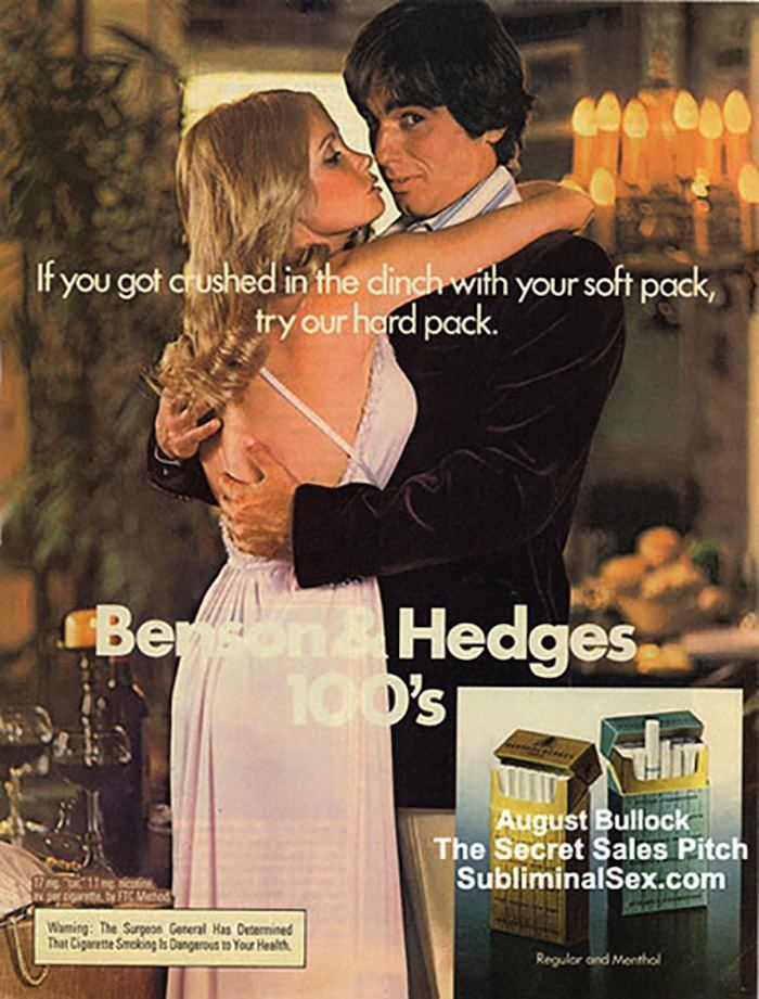 Cigarette Ads Benson