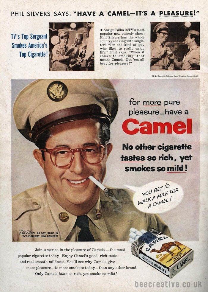 Cigarette Ads Camel