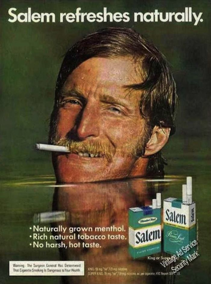 Cigarette Ads Salem