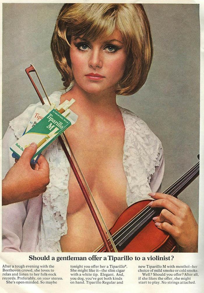 Tiparillo Violinist Ad