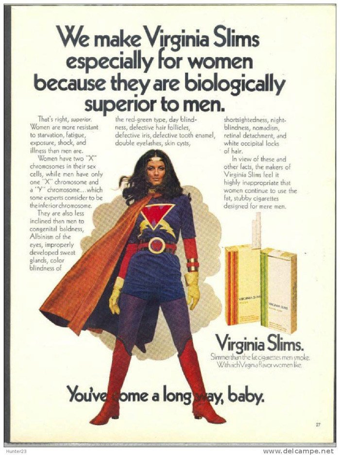Cigarette Ads Virginia Slims