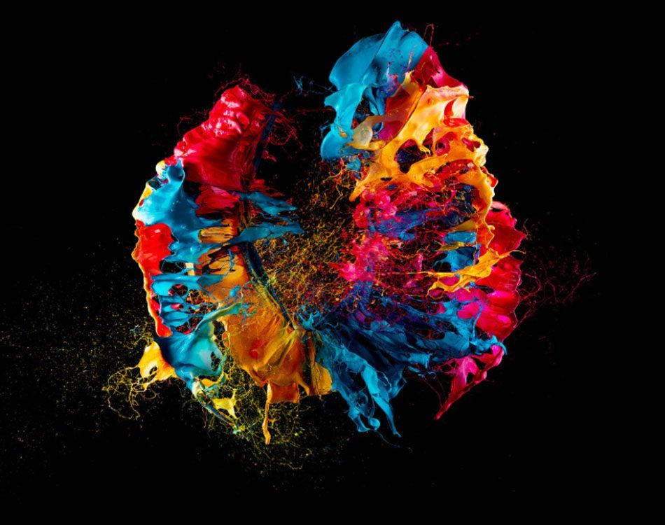 Colorful Chaos Of Fabian Oefner