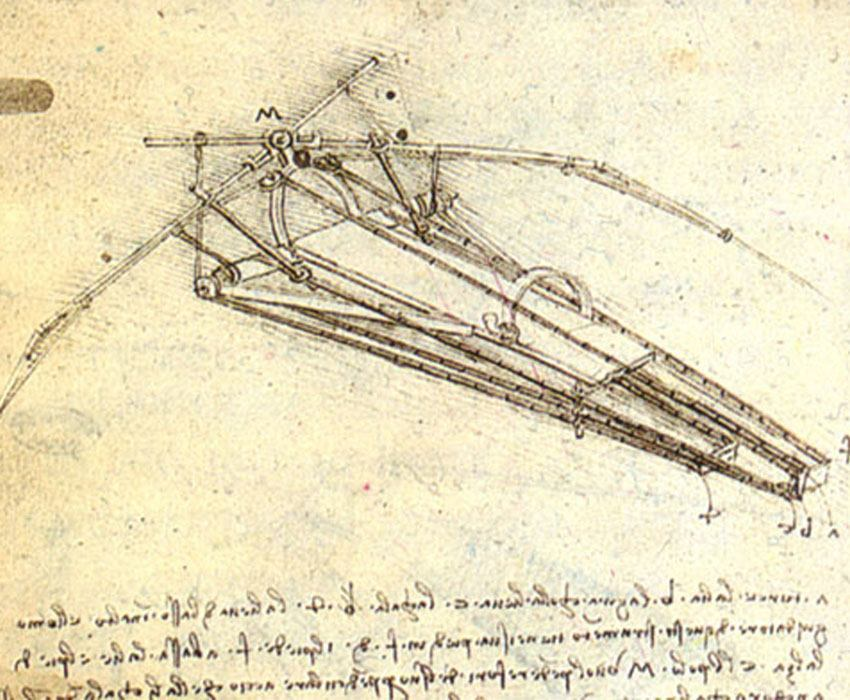 Da Vinci's Flying Machine