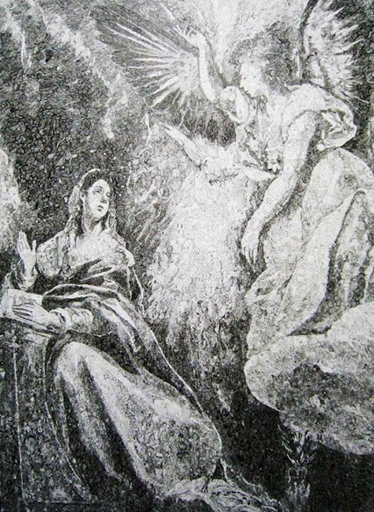 Annunciation Doodle