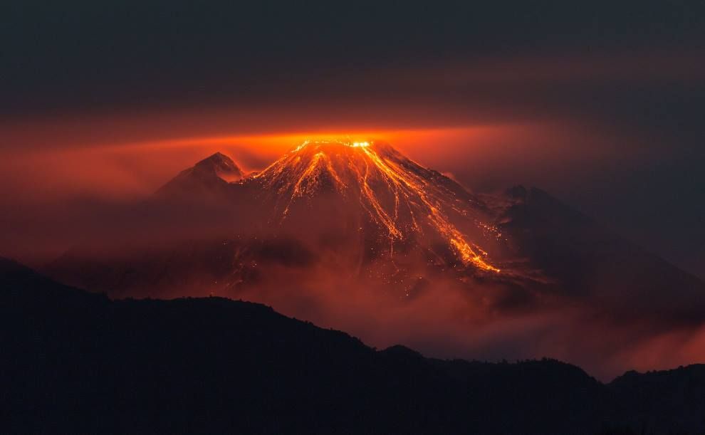 Interesting Facts & Photographs On Volcanoes By All That ...