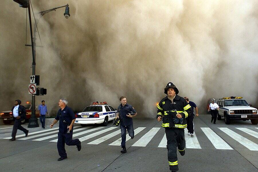 First Responders On September 11 2001