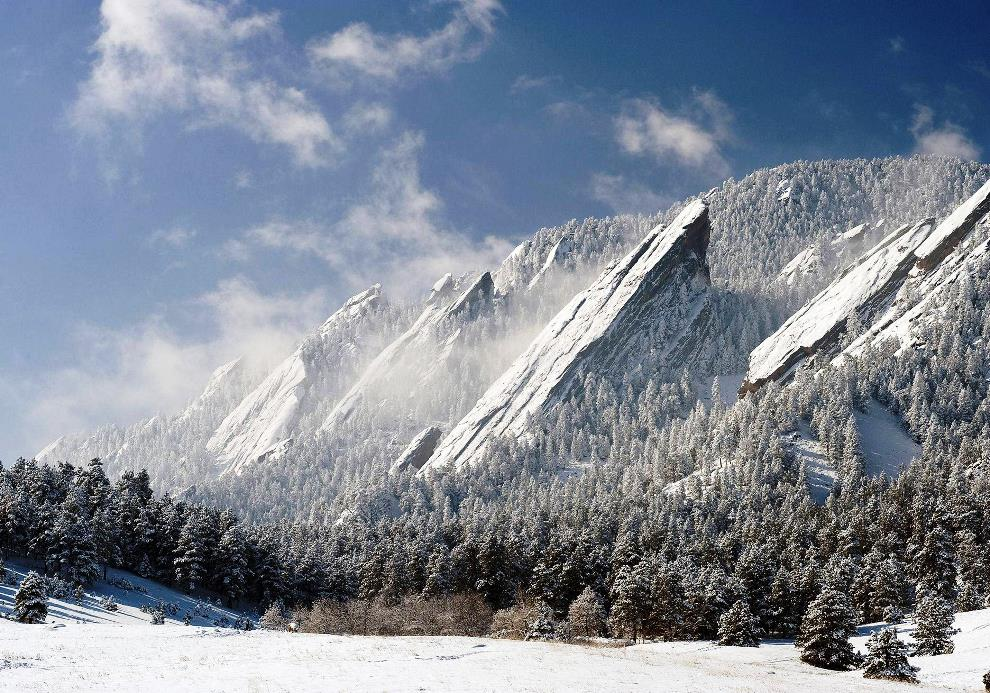 Flat Irons Boulder Colorado