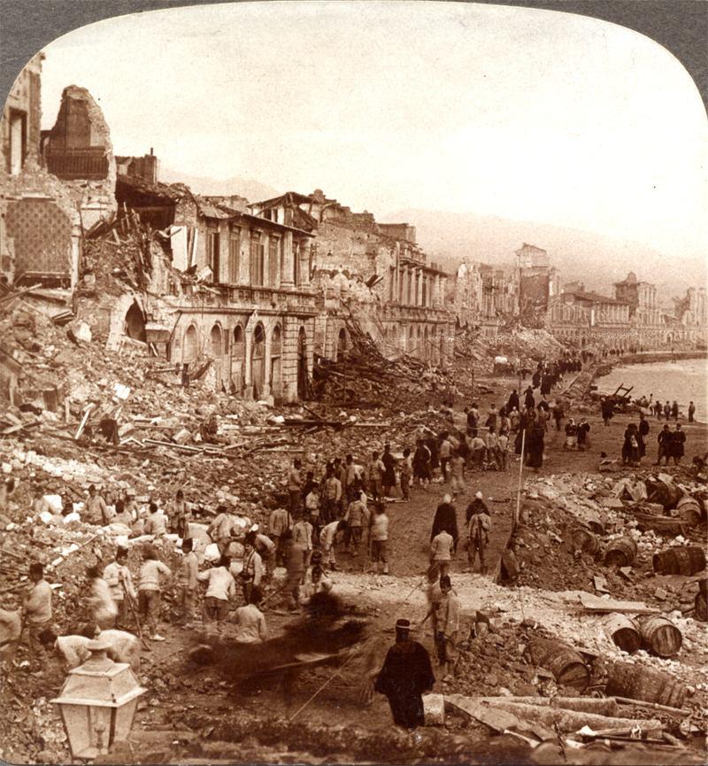 Messina Volcano Survivors