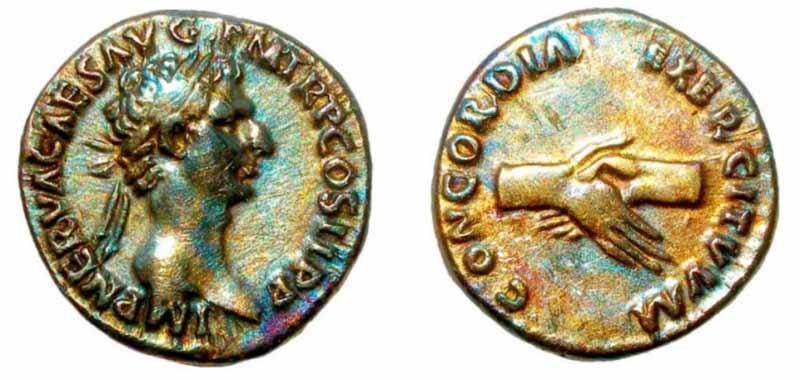 Roman Handshake