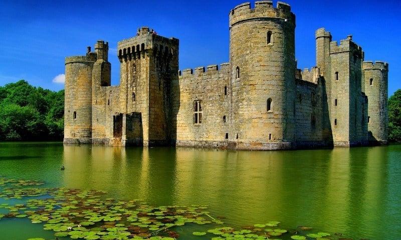 Incredible Castles Bodiam Castle England