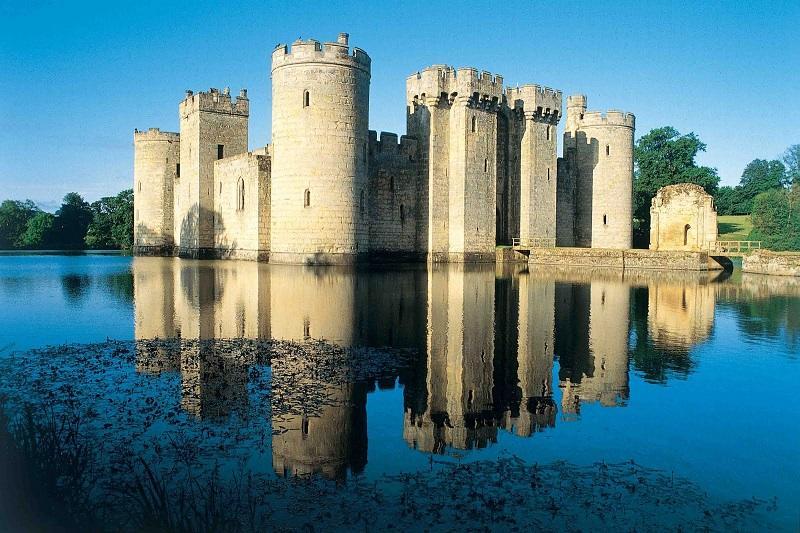 Bodiam Castle Picturesque