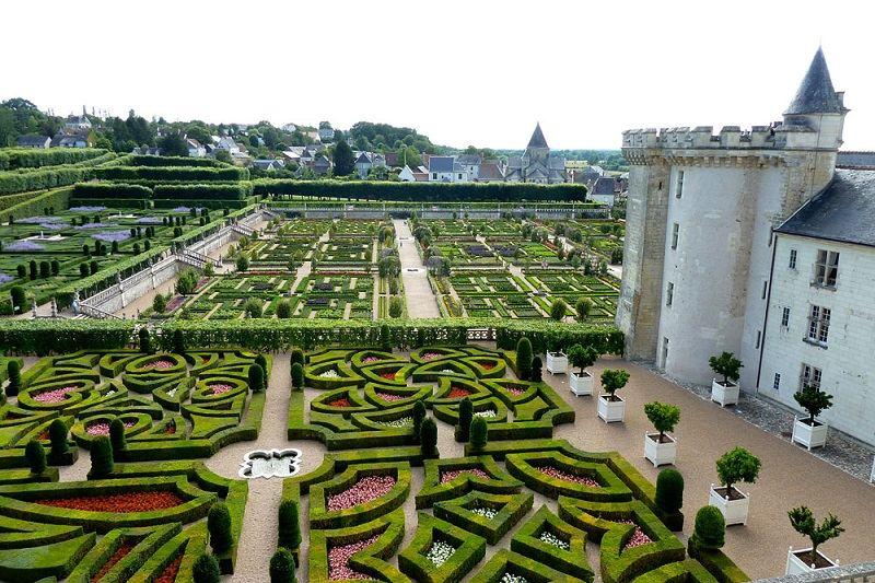 Incredible Castles Chateau De Villandry Formal Gardens