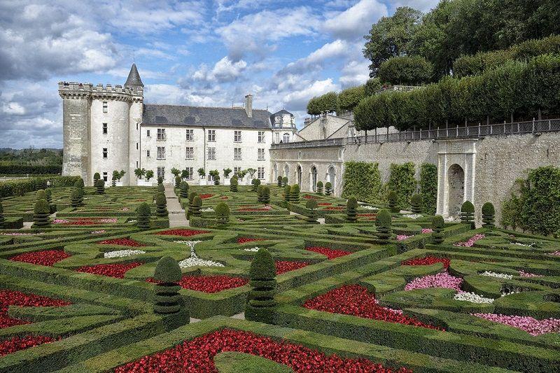 Incredible Castles Chateau de Villandry Gardens