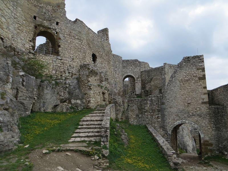 Spis Castle Grassy