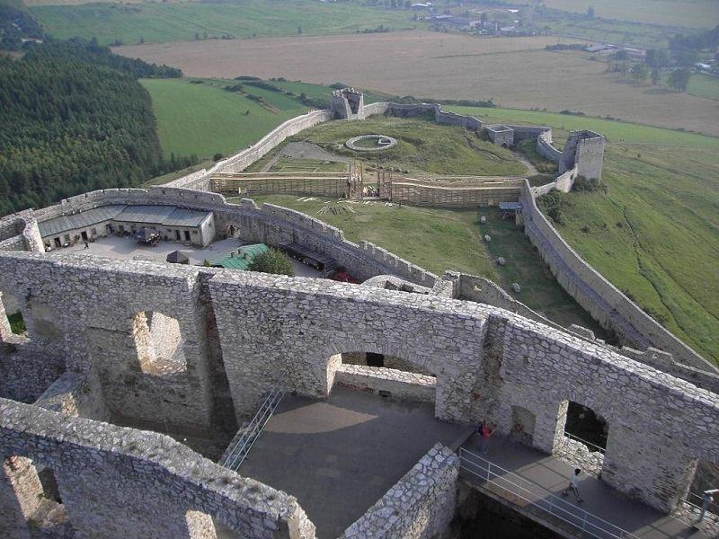 Spis Castle Interior