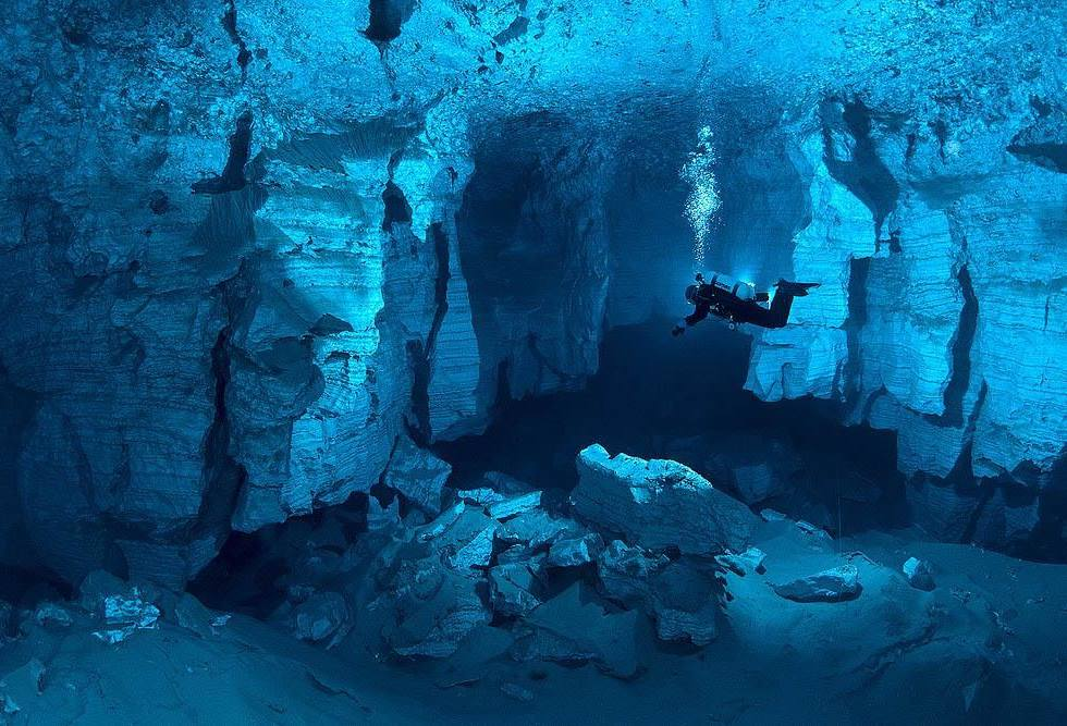 Underwater Cave Interesting Pictures