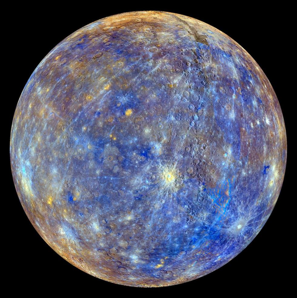 Mercury In High Resolution
