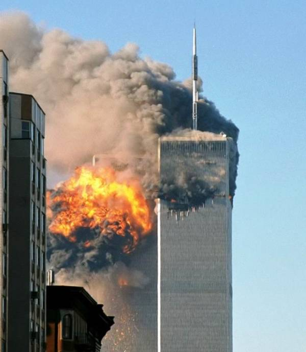North Tower 911 Photographs