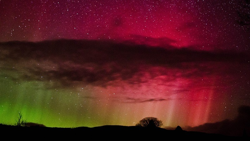 Northern Lights Photos Over Scotland