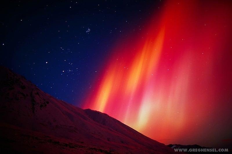 Red Hue Lights