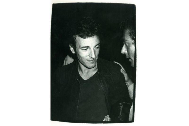 Rare Warhol Bruce Springsteen