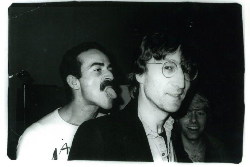 Rare Warhol Lennon