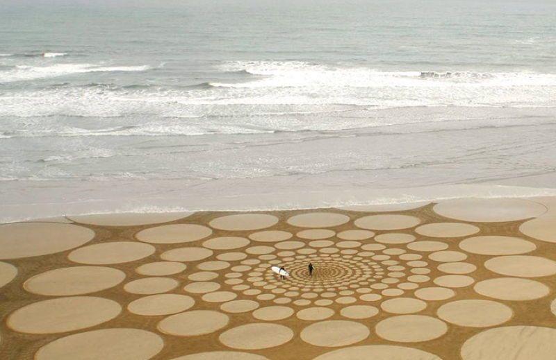 Sand Art Circles