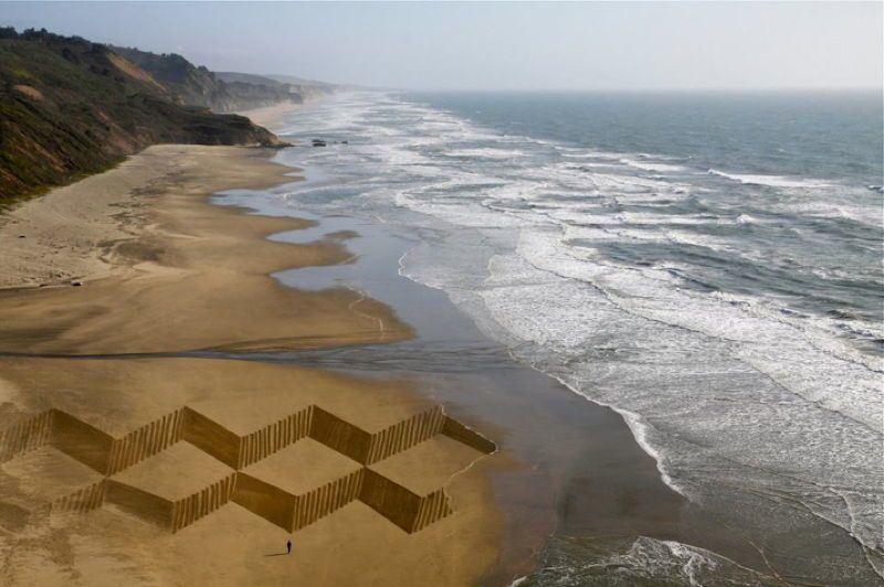 Sand Art Ocean