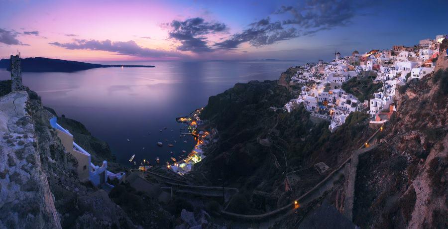 Santorini Aerial Photograph
