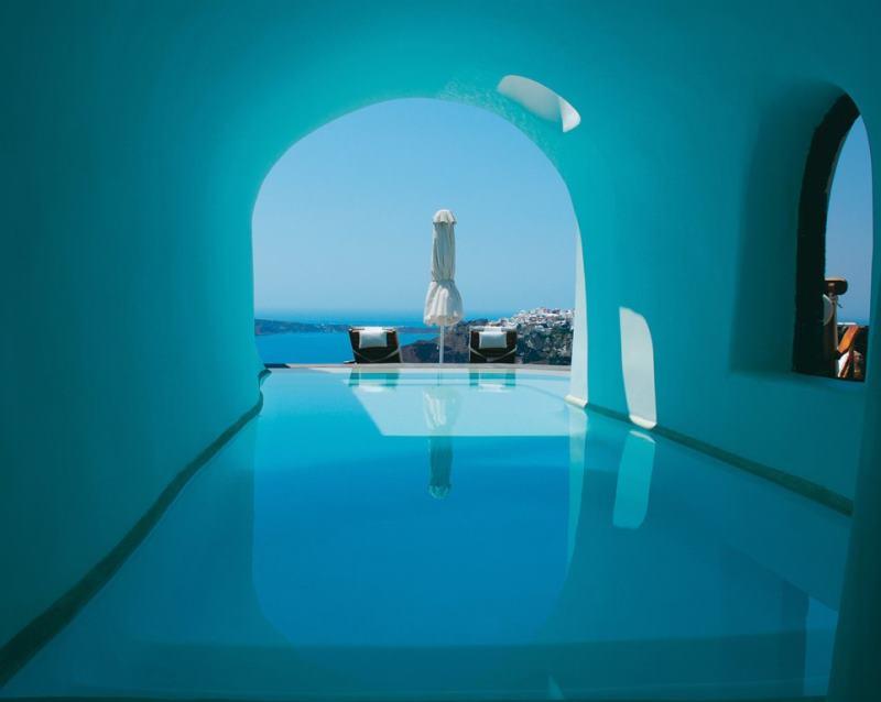 Santorini Beautiful Pool