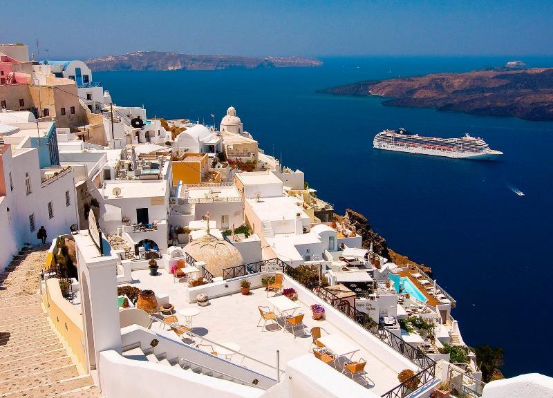 Photographs Of Santorini In Greece