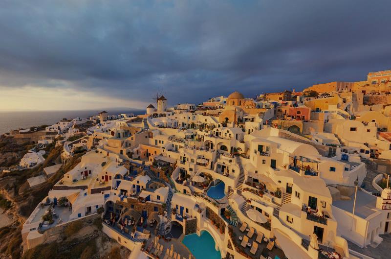 Storm In Greece
