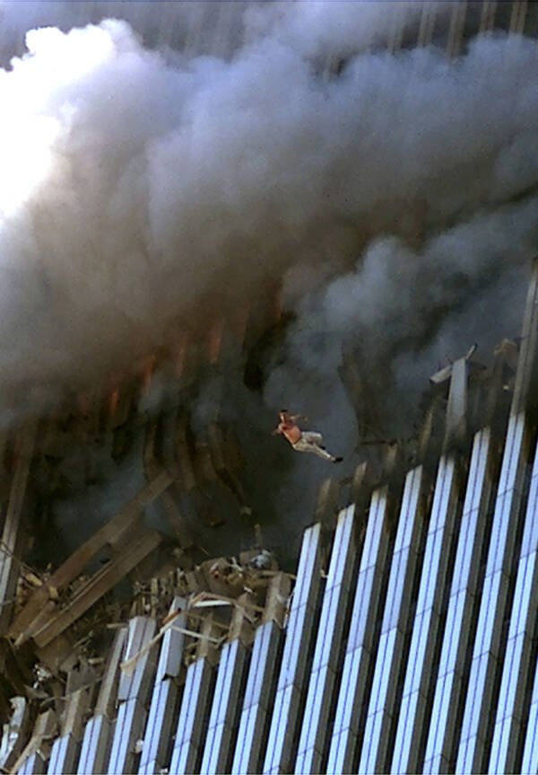 September 11th Photo Of Falling Man