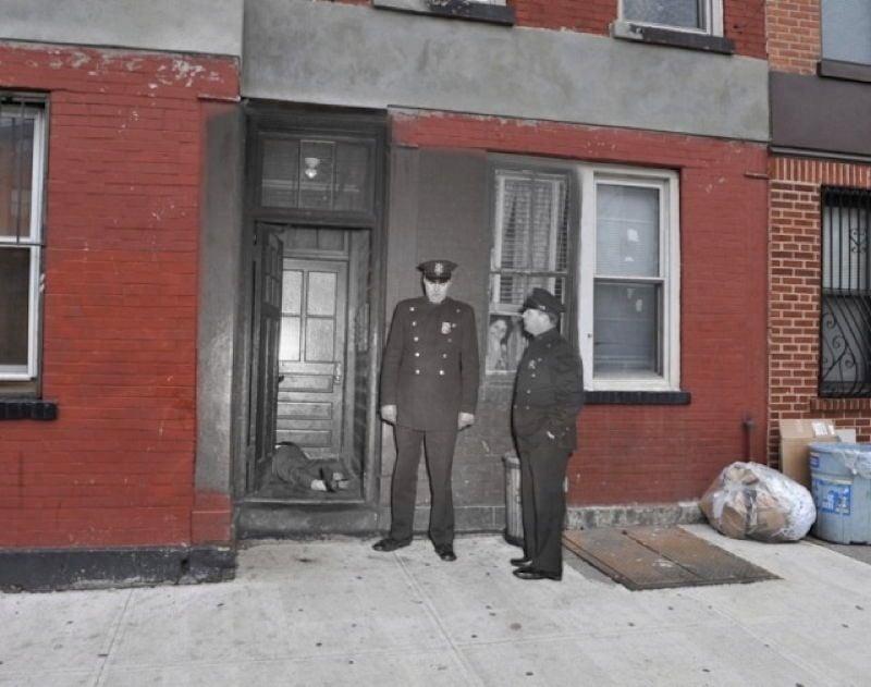 Cops At Gang Residence