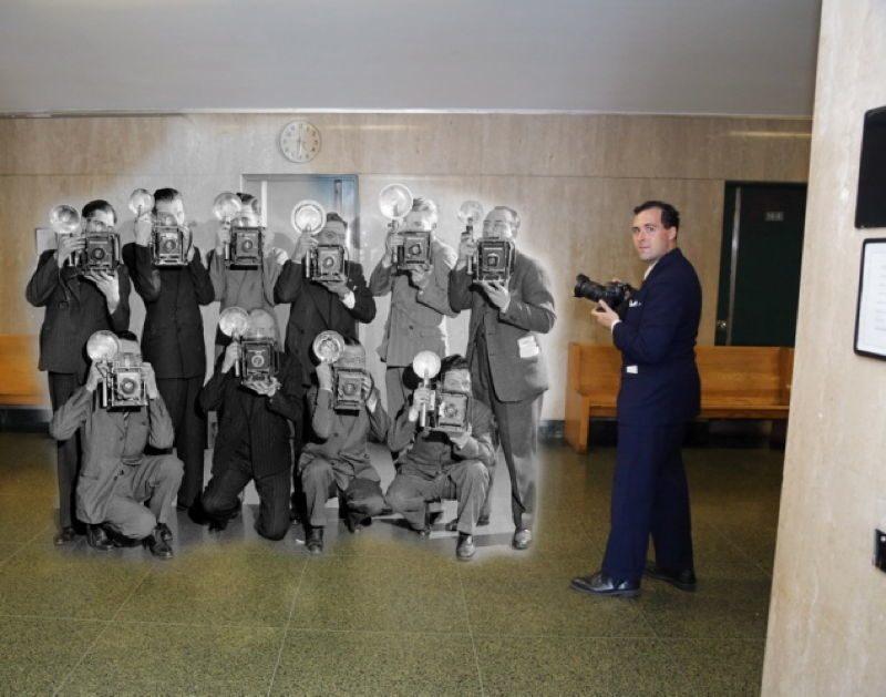Vintage Crime Scenes Photographer
