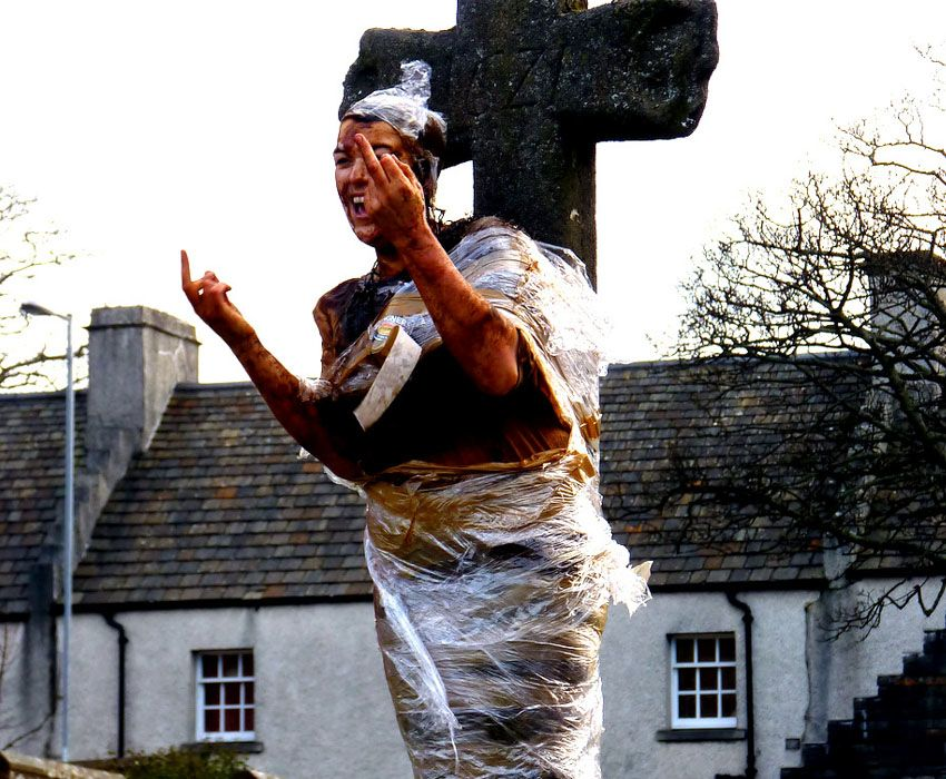 Blackening Scotland Tradition