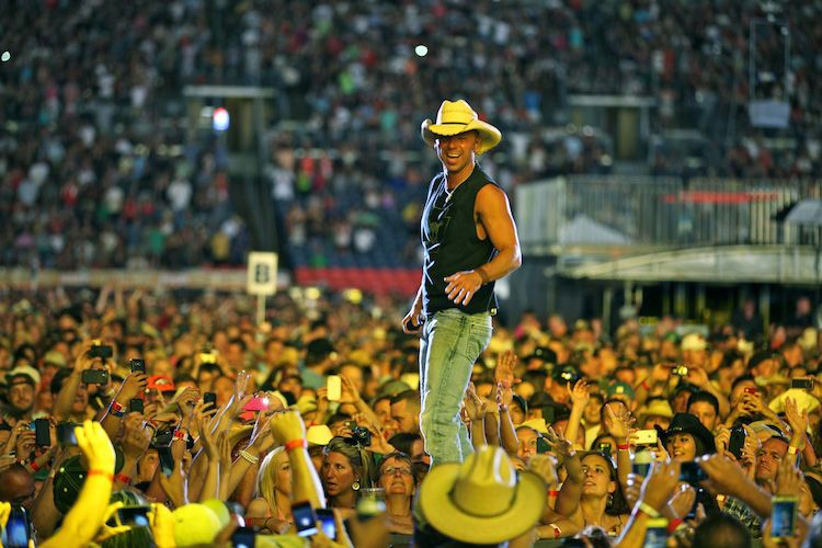 Weirdest Celebrations Kenny Chesney