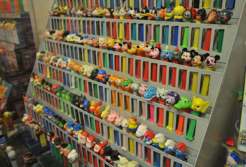 Pez Dispensers