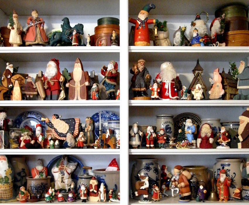 Odd Collections Santas